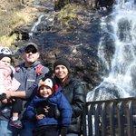 Waterfall at Amicalola Falls