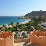 View from Al Husn over resort