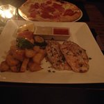 snapper and pizza