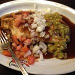 California Burritto with Beef Sauce