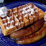 Waffles at Green Waffle Diner