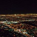 Night view of Vegas