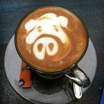 Piggy Latte!
