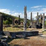 Limestone Island Cement Works ruins