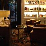 le coin bibliothèque
