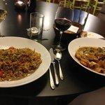 Pasta big portions