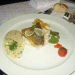 menu de gala 3eme plat