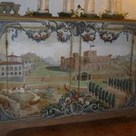 painted furniture in the castle