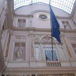 galeries saint hubert - interno - controfacciata