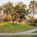 Azambezi River Lodge front view