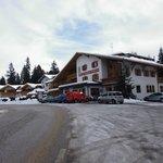 Hotel dal parcheggio