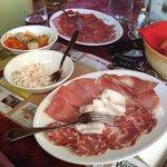 Antipasto carne salada e salumi