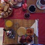Un aperçu du petit déjeuner, très complet !