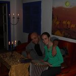 Wadie (the host) and Katya