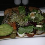 If you're into raw food - just ask chef! Quite possibly the best chef salad I ever had!