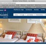 Lo que ofrecen en la página web Hotel El Parque