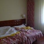Camas habitación Termas Pallarés Hotel el Parque