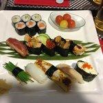le sushi royal tout simplement divin