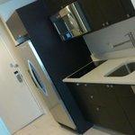 kitchen in the corridor