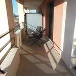le balcon !