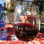 Great Chianti at Bar Dante!