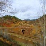 Rio Tinto  in den wintermonaten fährt der zug nur samstags.