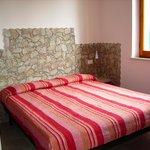la camera da letto dell' appartamento maggiorana