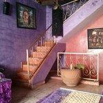 Rich purple velvet