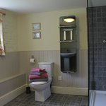 shower room, Eric Dee's cottage
