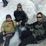 Trekkking en Glaciar Viedma - chin chin con Bailey´s