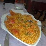 spaghetti astice