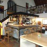 L'Auberge Cavalière du Pont de Bannes - Le bar