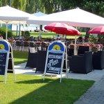 Unsere Strandrestaurant direkt am Bodensee