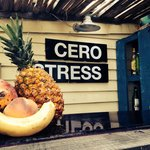 Cero Stress has the best drinks!