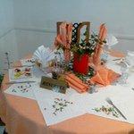 Présentation de table Djerba Nova
