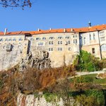 Castle in Downtown Cesky Krumlov