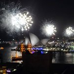 Fireworks over the Opera House