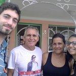 Con Ricardo y señora.
