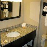 Bathroom - LQ Springfield (Jan. 2014)