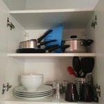 Pack de vaisselles, couverts et ustensiles