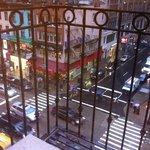Vista do quarto, frente para a 6ª Avenida!