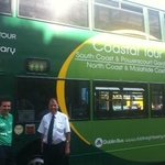 Driver Shay Dublin Bus north Coast and Castle Tour