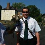 Driver John on our Coastal Tour Dublin Sightseeing