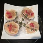 Baked Top Neck Clams with Lobster Butter