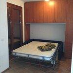 La Splaza T1 apartment - second sofa bed