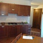 La Splaza T1 apartment's kitchen