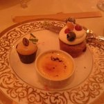 cakes and creme brulee