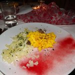 Il Secondo della Cenetta Romantica: Omelette al Tartufo con patate
