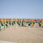 La spiaggia di Jesolo.