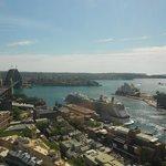 View from Horizon Club at Shangri-La Sydney